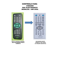 Controle Remoto Raf Electronics Vmp-200a