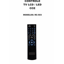 Controle Remoto Tv Lcd Led Cce Rc-503