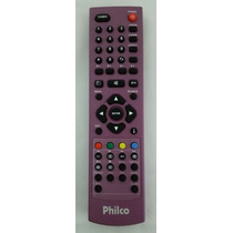 Controle Remoto Tv Led Lcd Philco Rosa 32 42 Original Novo