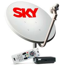 Sky Livre Pre-pago 91 Canais Durante 06 Meses