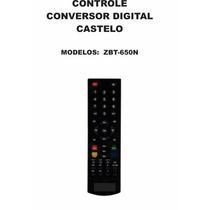 Controle Remoto Receptor Digital Castelo Zbt-650n