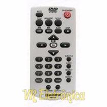 Controle Remoto Para Dvd Gradiente Cr-230 D-203 D-204 Dt-230