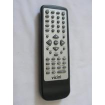 Controle Remoto Vicini Dvd Original
