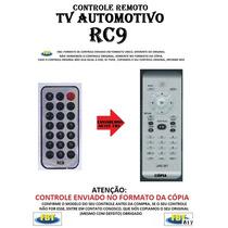 Controle Remoto Tv Digital Automotiva Rc9