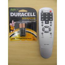 Controle Remoto Receptor Quasar 9800s + Pilhas Duracell
