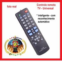 Lote 10 Un. Controle Remoto Tv Universal Inteligente Atacado
