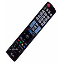Controle Remoto Original 3d Para Tvs Lg Akb73275620