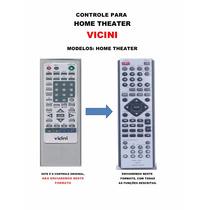 Controle Remoto Home Theater Vicini