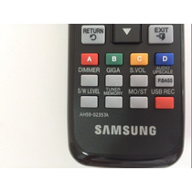 Controle Home Theater Samsung Original