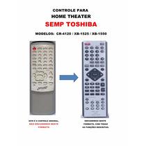 Controle Remoto Home Theater Semp Toshiba Cr4120 Xb1525 1550