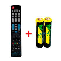 Controle Remoto Tv Lcd / Led 3d Smart Lg Akb73615319+ Pilhas