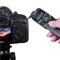 Controle Disparador Time Lapse Canon C3 20d D30 40d 50d D60