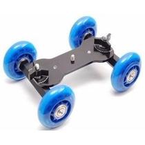 Dolly Skate Gel C/ Braço Slider Trilho P/ Camera Dslr Video
