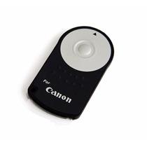 Controle Remoto Para Canon Disparador Sem Fio Dslr Eos Rc-6