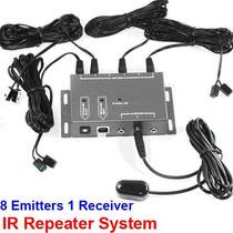 Extensor Repetidor De Controle Remoto 1 X 8 - Frete Grátis