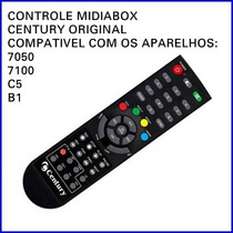 Controle Remoto Midiabox 7100 Original