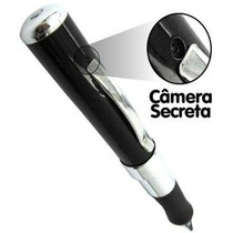 Caneta Espiã Filmadora Hd Audio E Video Aceita Sd Até 16gb