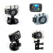 Camera Filmadora Digital Action Camcorder Sport Prova Dágua