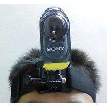 Suporte De Cabeça Frontal Sony Action Cam Hdr-as15 Ou As-30