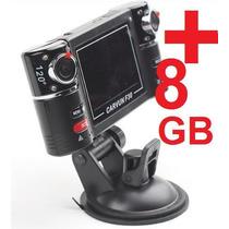 Câmera Filmadora Veicular Hd Dvr Automotiva + 8gb Grátis!