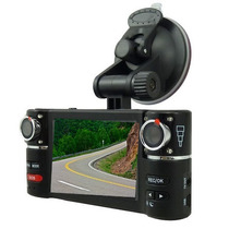 Camera Gravação Carro Dual Hd Dvr Automotivo A Melhor !