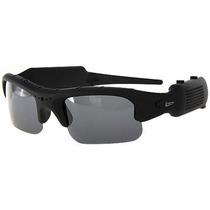 Óculos De Sol Espião Filmadora Vídeo Som Fotos Câmera Espiã