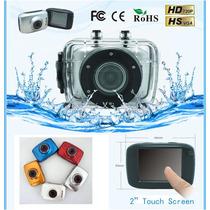 Camera Prova D Agua Capacete Touch Screen Sport Foto Filma