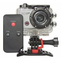 Camera Filmadora Tipo Gopro Hero Cam Capacete Microfone Wifi