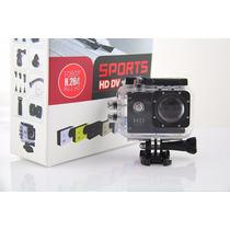 Filmadora Câmera Capacete Esporte Mergulho Similar Go Pro Hd