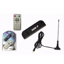Receptor De Tv Digital Com Controle- Digital Tv Stick Isdb-t