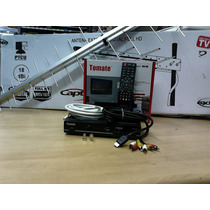 Kit Conversor Digital Mcd 800 Tomate+antena Capte+ Fio+cabos