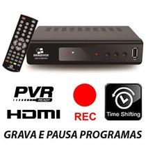 Conversor Receptor Digital Hdmi Grava Pausa Usb Imagevox