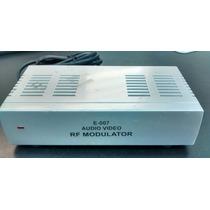 Modulador De Rf Estéreo Universal E-007