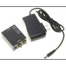 Adaptador Conversor De Audio Digital Para Analógico.