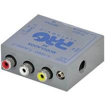 Modulador Conversor De Rca Av Para Rf Sky Camera Video Game