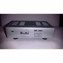 Modulador Rf Cameras/video Game/dvd No Canal 3 Ou 4 Da Tv