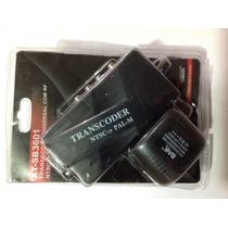 Transcoder Universal Com Rf Ntsc/ Pal-m