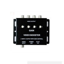 Amplificador Video Carro Booster 1x4 Dvd Lcd Tvrca Splitter