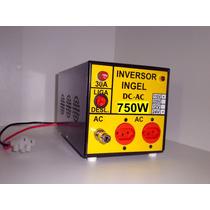 Inversor Conversor Entra 12v/24v Dc Sai 120vca/220vca 750w
