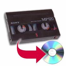 Conversão De Fitas Vhs Minidv 8mm Para Dvd Não É Adaptador