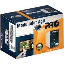 Modulador Agil Pro Pqmo 2600b Não Adjacente Camera De Segura