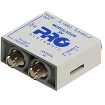 Modulador Audio E Vídeo X Rf Coaxial Parabolica Dvd Receptor