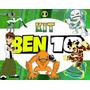 Kit Completo Ben 10 Arte Convites Lembrancinhas E Mais
