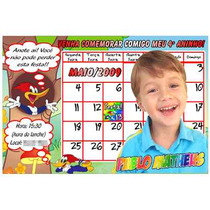 50 Convites Personalizados Infantis 10 X 15 + Envelopes