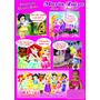 Convite Princesas Disney Baby Em Quadrinhos
