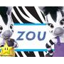Kit De Zou Disney+ Desenha Convites + Cartões + Zebra