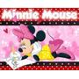 Kit Festa Minnie Mouse Aniversários + Frete Grátis Ref 003