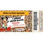 Convites Tipo Ingresso - 50 Unidades - Mickey Safari