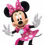 Kit Minnie Mouse Rosa + Desenha Convites E Mais Frete Gratis