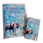 40 Kit Personalizado Livro Revistas De Colorir Com Giz Cera